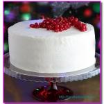 Белый апельсиновый торт