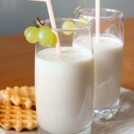 """Молочный коктейль с мороженым """"Карамельное небо"""""""