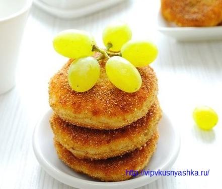 сырники из творога по-киевски