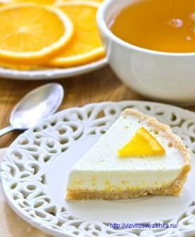 Апельсиновый торт - мороженое