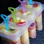 Фруктовое домашнее мороженое