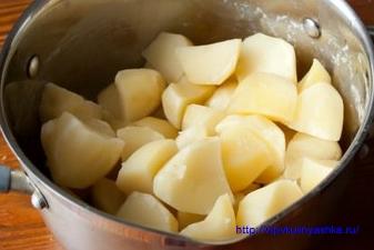 Скумбрия в духовке в картофелем