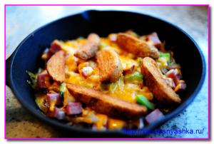 на овощи выкладываем картофель