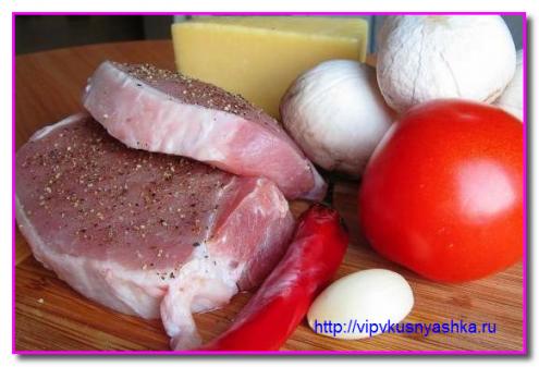 продукты для острой свинины