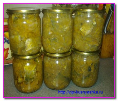 Домашние консервы из селедки в масле с овощами