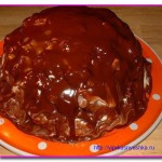 Лохматый сметанный торт