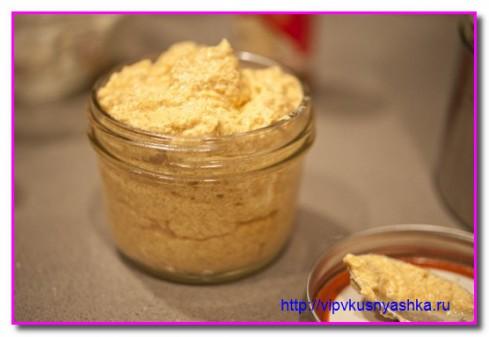 Сырный соус к печенью и тостам