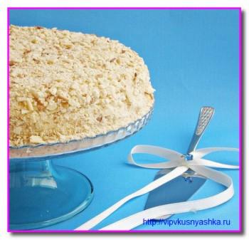весь торт Наполеон