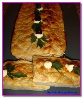 Куриное суфле с кабачком