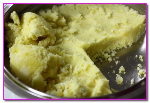 перемешиваем картофель