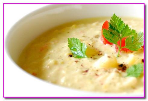 Рецепт супа из кукурузы с сельдереем