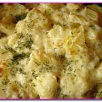 Запеканка с курицей и картофелем